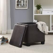 linon jamelia storage ottoman shop your way online shopping
