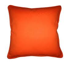 coussins orange coussin zen orange 40 x 40 cm castorama