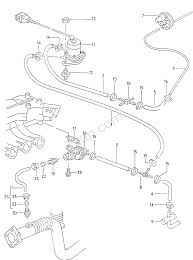 audi usa parts vacuum hoses with connecting parts for pneumatic audi 5000