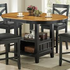 oval counter height dining table dining table with storage contemporary gallery within 26 remodeling