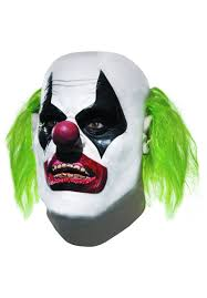 joker henchman clown halloween mask from batman arkham city