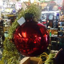 The Dog House Antiques Extra Large Christmas Baubles Or All