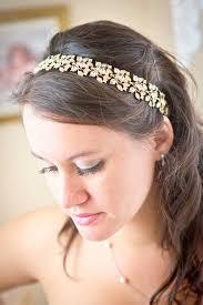 bridal headband bridal headband with ribbon etsy finds emmaline