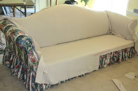 Slipcovers From Drop Cloths Drop Cloth Sofa Twill Slipcover Studio