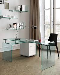 Schreibtisch Aus Glas Der Schreibtisch Aus Gebogenem Glas Rialto Isola U2013 Fiam Italia