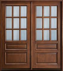 30 Inch Exterior Door by 30 Inch Exterior Wood Door 30 In X 80 In 9 Lite Unfinished Dutch