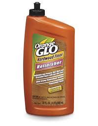 orange glo hardwood floor refinisher