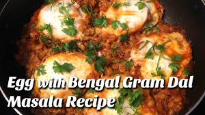 egg curry eggs with bengal gram dal how to make egg recipe by