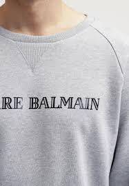 pierre balmain dress black pierre balmain sweatshirt grey