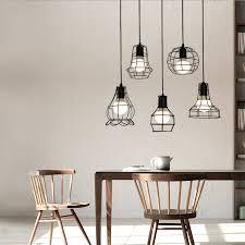Edison Bulb Light Fixtures Aliexpress Com Buy Vintage Industrial Metal Cage Pendant Light