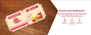 online food coupons u0026 deals on movie tickets bookmyshow