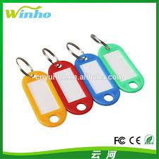 coloured key rings images Winho fluorescent key ring plastic name tags label identify keys jpg