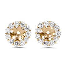 diamond earring jackets diamond earring jackets ebay