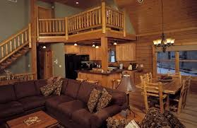 log home interior photos interiors midwest log home services