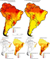 Population Density Map Of The World by Maps Population Landscape And Climate Estimates Place V2 Maps