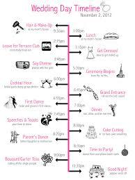 wedding day timeline 15 00 via etsy men u0027s schedule on one side