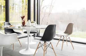white modern dining chairs within eames rocket potential