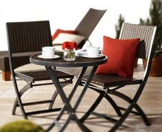 High Top Patio Furniture by Halsted 5 Piece Wicker Small Space Patio Furniture Set Threshold