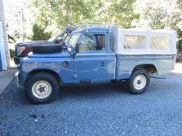 land rover snorkel 1982 series iii high capacity pick up