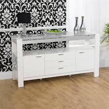 White Gloss Sideboards Mark Harris Sophia White High Gloss Sideboard Internet Gardener