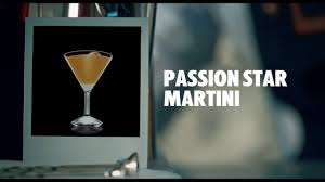 martini drink passion star martini drink recipe how to mix youtube