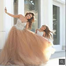 dresses for sweet 15 fashion sweet 16 gown beaded crystals prom dresses