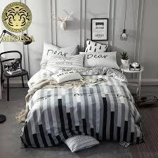 Waterfall Comforter Medusa Vintage Waterfall Nordic Cotton Bedding Set Queen Double