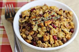 cornbread sausage recipe with apples and cranberries