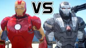 war machine iron man wallpapers iron man vs war machine epic battle youtube