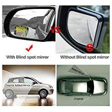 Blind Spot Side Mirror Amazon Com Audew 2 Pack Square Blind Spot Mirror 360 Abs Glass