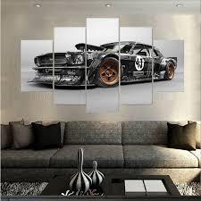 ford mustang home decor ford mustang home decor startonight huge canvas wall art ford