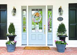 Planter S House Farmhouse Front Entry And Easy Planters Worthing Court