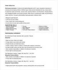 Telemarketing Resume Job Description by Babysitter Advertisement Examples Job Application Letter 17 Best