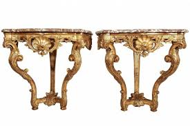 wall mounted console table pair of wall mounted console tables ref 64609