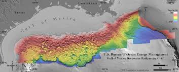 Old Mexico Map by New Seafloor Map Reveals How Strange The Gulf Of Mexico Is