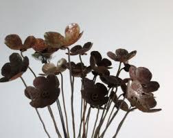 metal flowers metal flowers etsy