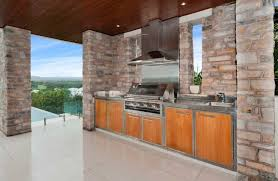Stainless Steel Brick Backsplash by Furniture Stainless Steel Countertop Outdoor Kitchen Cabinet