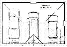 36x24 3 car garage 864 sq ft pdf floor plan atlanta georgia