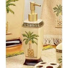 Tropical Bathroom Decor by Palm Tree Bathroom Decor Ideas With Sweet Shower Hook Palm Tree