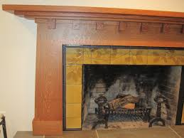 craftsman style mantel excellent craftsman style oak and walnut
