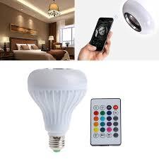 Bluetooth Light Bulb Speaker Bluetooth Flashing Light Bulb Speaker Homevibe