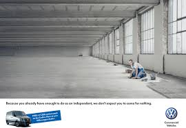 volkswagen print advert by ddb tiling ads of the world