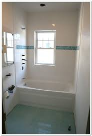 white color small old bathroom decorating ideas featuring glass
