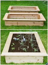 How To Install A Raised Garden Bed - diy raised garden bed ideas instructions free plans