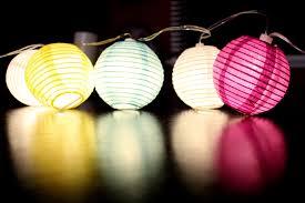 paper lantern string lights ideas attach paper lanterns lantern