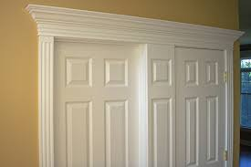 Exterior Door Pediment And Pilasters by Integrate Window And Door Trim With Wainscoting Panels