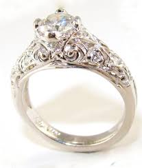wedding rings vintage engagement ring for