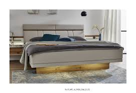 stylform cassiopea champagne floating modern bed head2bed uk