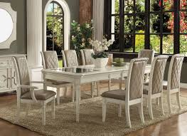 Acme Dining Room Set Acme 62090 Antique White Dining Set Discount Dining Set