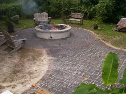 Painting Patio Pavers How To Relevel A Brick Patio 6 Steps With Pictures